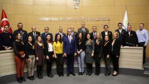 Gaziemir Belediyesi dünyayı turuncuya boyadı