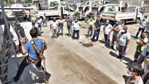 Bornova'da önce iş güvenliği