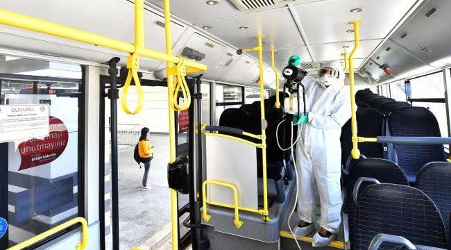 Otobüs, taksi ve dolmuşlara virüs kalkanı