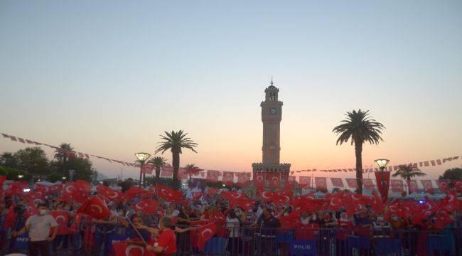 Konak'ta 15 Temmuz ve Milli Birlik Günü Kutlamaları
