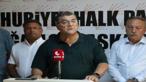 """CHP'li Sındır, """"Siyasal İktidar Aliağa Halkını Da Gözden Çıkarmış!"""""""